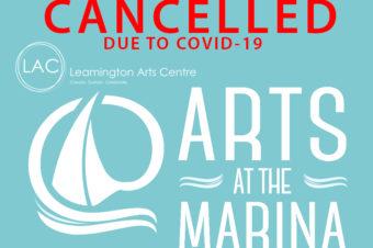 ARTS @ THE MARINA: CANCELLED
