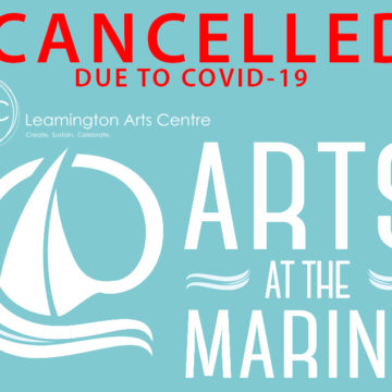 ARTS @ THE MARINA: CANCELLED