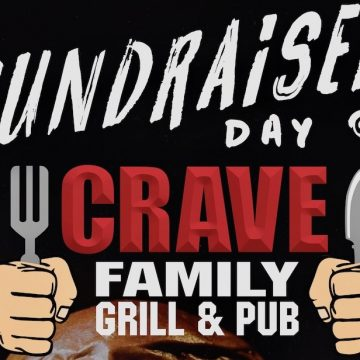 CRAVE GRILL & PUB FUNDRAISER FOR THE LAC