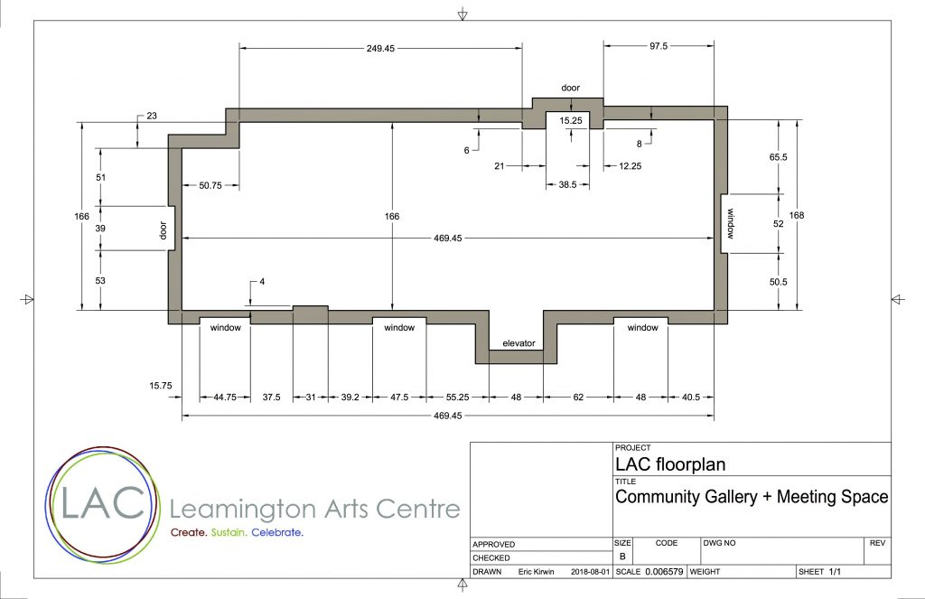 LAC floorplan