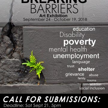 CALL FOR SUBMISSIONS: BREAKING BARRIERS