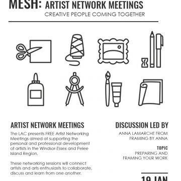 MESH: Artist Network Meetings
