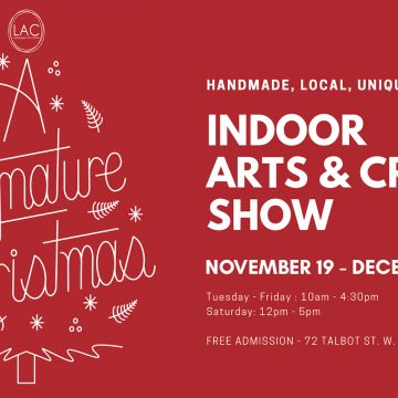 A SIGNATURE CHRISTMAS: indoor artists market