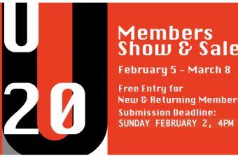 U20: members exhibit + sale