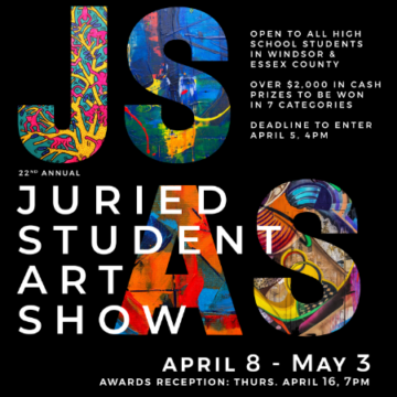 Call for Submission: JURIED STUDENT ART SHOW: 22nd Annual