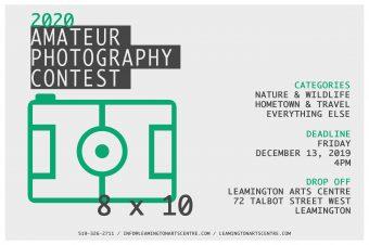 8×10: 2020 Amateur Photography Contest