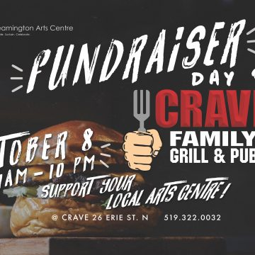 CRAVE FAMILY GRILL & PUB: FUNDRAISER FOR THE LAC
