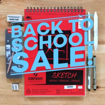 BACK TO SCHOOL ART SUPPLY SALE