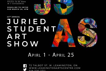 JURIED STUDENT ART SHOW: 23rd annual