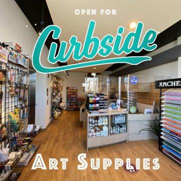 CURBSIDE ART SUPPLY SALE