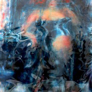 "#13 BLACK TOILETTE, 4/4 by Graydon Dyck, 38""x50"""