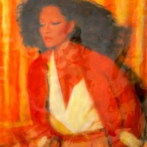 "DIANA ROSS #47 by Graydon Dyck, 38""x50"""