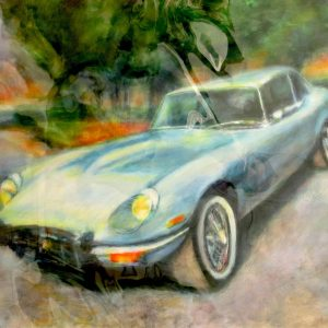 "JAGUAR 60's #13 by Graydon Dyck, 36""x48"""