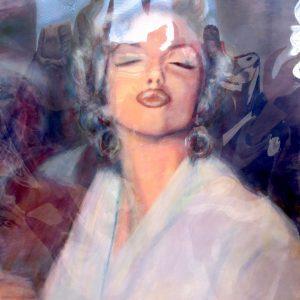 MARILYN MONROE #59 by Graydon Dyck