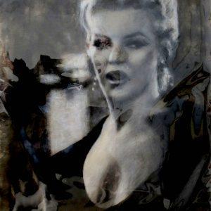 MARILYN MONROE #7 by Graydon Dyck