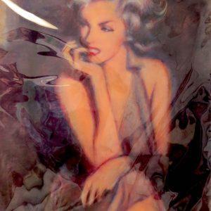 MARILYN MONROE #54 by Graydon Dyck