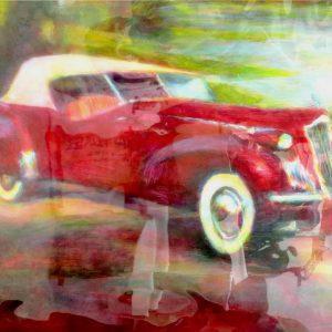 "PACKARD 30'S #16 by Graydon Dyck, 37""x50"""