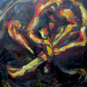 "DAWNING by Mattia Lapa, 46""x59"""
