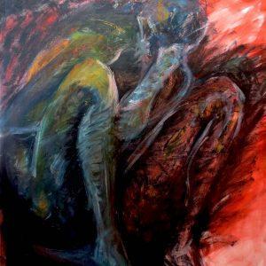 "ENLIGHTENING by Mattia Lapa, 40.25""x54.75"""