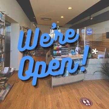 OPEN! ART SUPPLY STORE