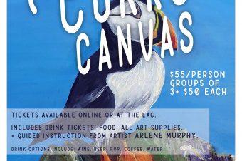 CORKS & CANVAS: Paint Night