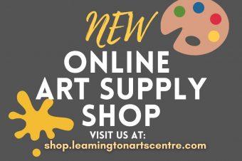 NEW ONLINE Art Supply Shop