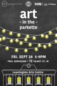 Art in the Parkette Poster Final
