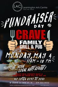 Crave Fundraiser May 4 2020 Poster 24x36 LR