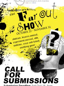 Far Out Show Poster 2019