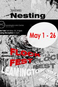 Flock Fest Poster RECEPTION & TALK