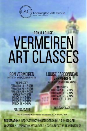 Ron & Louise Vermeiren Art Classes